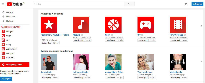 8457f29c6925bf Aby oglądać filmy na YouTube nie trzeba rejestrować się w serwisie  natomiast aby zamieścić filmy wymagana jest już rejestracja. Nie ma żadnych  ograniczeń w ...